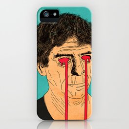You, Me and Lou Reed iPhone Case