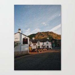 Coniston Village Canvas Print
