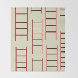 Ladders Throw Blanket