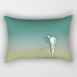 Growing up Rectangular Pillow