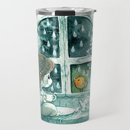 Blue Day Travel Mug