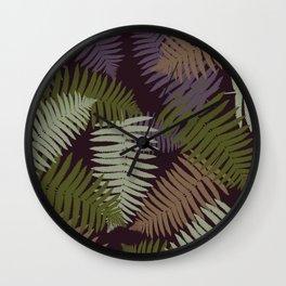 foliage#1 Wall Clock
