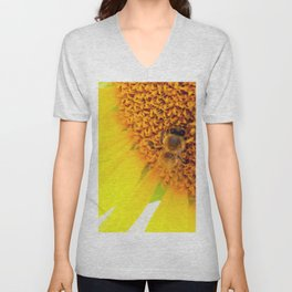 """SAVE THE BEE""""S Unisex V-Neck"""