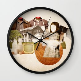 Together forever Wall Clock