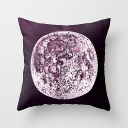 An Expired Planet Throw Pillow