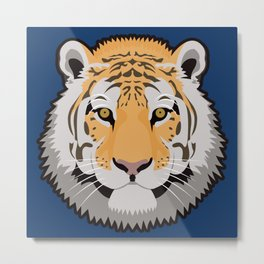 The Wild Ones: Siberian Tiger Metal Print