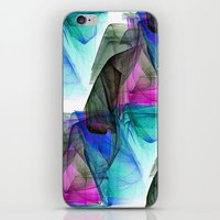 tool iPhone & iPod Skins featuring Decorative Tool by Sartoris ART