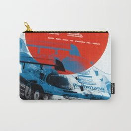 Vintage Fuji 84 Race Poster Carry-All Pouch