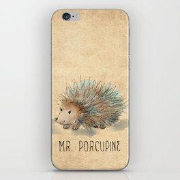 Mr. Porcupine iPhone Skin