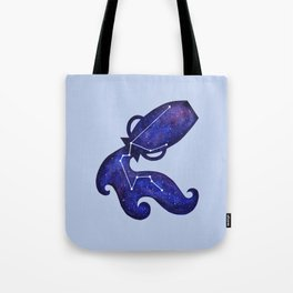 Astrological sign aquarius constellation Tote Bag