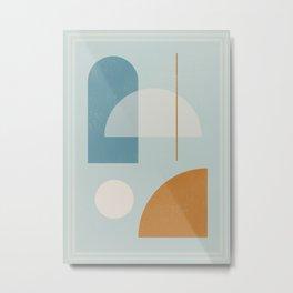 Geometric Abstract 103 Metal Print