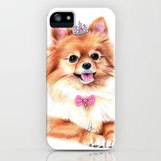 Pomeranian Princess iPhone (5, 5s) Slim Case
