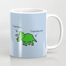 Triceratops Tricerabottom Coffee Mug