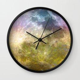 MOON under MAGIC SKY III-1 Wall Clock