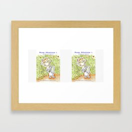 Mouse Adventures 1, Adolfo and Athena Framed Art Print