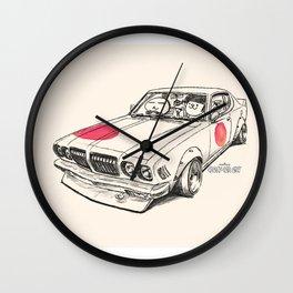 Crazy Car Art 0170 Wall Clock