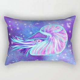 The Celestial Chambered Nautilus Rectangular Pillow
