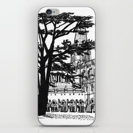 cloister shadow iPhone Skin