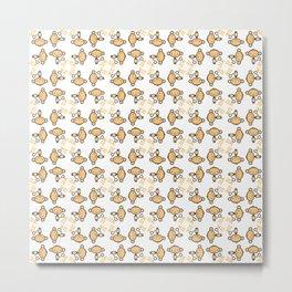 New year 2016 monkey pattern Metal Print
