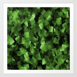 Green Haze....... Art Print