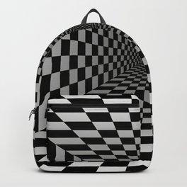 Welcome Door Mat Optical Illusion Vortex 3D Backpack