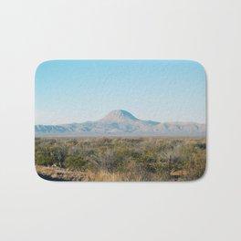 Volcanic mountain Bath Mat