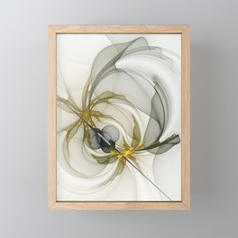 Together We Are Strong, Abstract Fractal Art Framed Mini Art Print