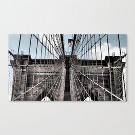 Iron Strung - Brooklyn Bridge Canvas Print