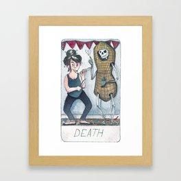 The Solipsist Tarot | XIII - Death Framed Art Print