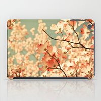 tree iPad Cases featuring Pink by Olivia Joy StClaire