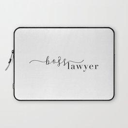 Boss Lawyer Laptop Sleeve