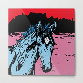 Filly Metal Print