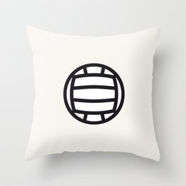 Volleyball - Balls Serie Throw Pillow