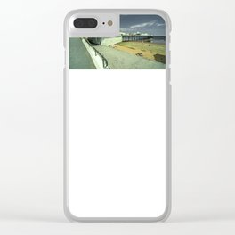 Paignton Pier   fun for all Clear iPhone Case