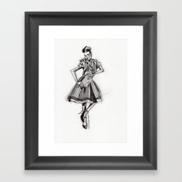 Cameo 1  Framed Art Print