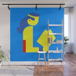 Wonder Lady Reading Wall Mural