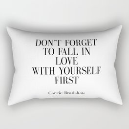 Fashion Quote Fashion Print Fashionista Girl Bathroom Decor Art Carrie Bradshaw Quote Sex and City Rectangular Pillow