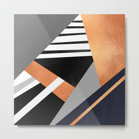 Geometric Combination V2 Metal Print