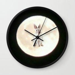 Moonrabbit 6 Wall Clock