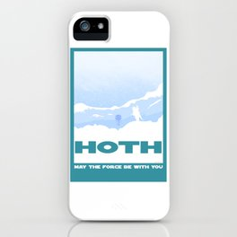 Planet Hoth iPhone Case