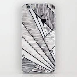Diagonal iPhone Skin
