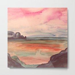 Melancholic Landscape Metal Print
