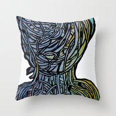 Windower White Throw Pillow