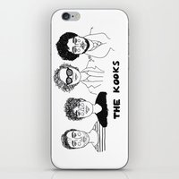 cactei iPhone & iPod Skins featuring Naïve by ☿ cactei ☿