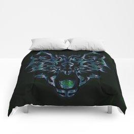 Tribal Wolf Design Comforters