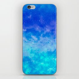 Sweet Blue Dreams iPhone Skin