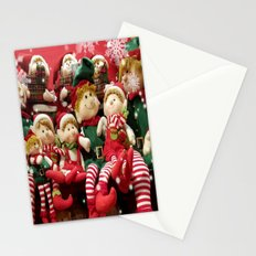 Merry Christmas Elves Stationery Cards