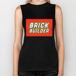 BRICK BUILDER in Brick Font by Chillee Wilson Biker Tank