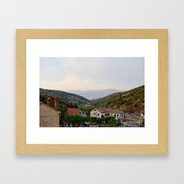 Bol, Croatia Framed Art Print