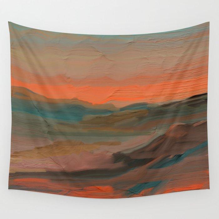 Southwestern Sunset Wall Tapestry